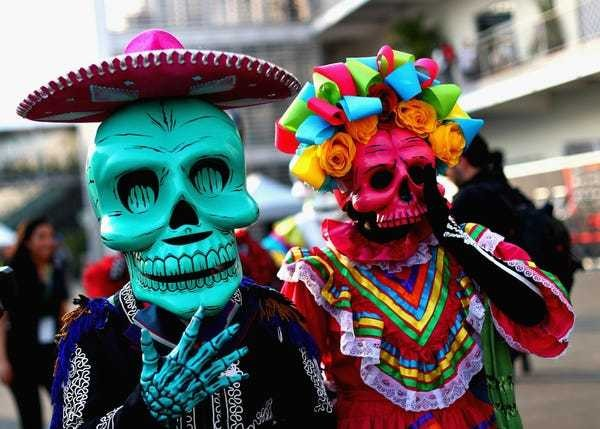 20 photos of Mexico's breathtaking Day of the Dead festival - Business Insider