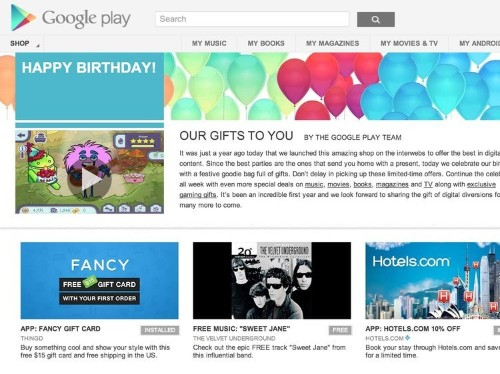 Google Is Giving Android Users A Bunch Of Free Songs, Apps, And Music