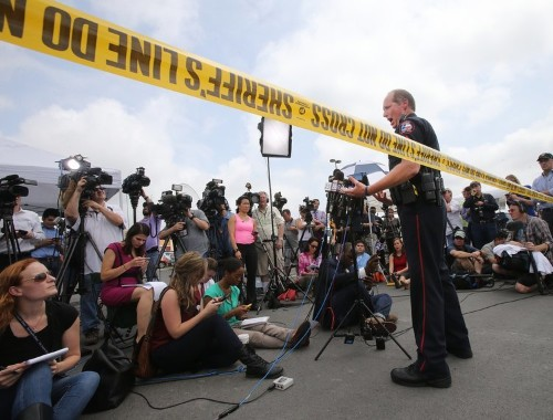 The Texas restaurant shooting shows how different media coverage is of white-on-white crime
