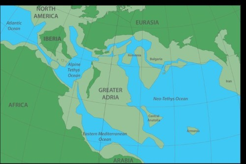 Hidden continent called Greater Adria sits under modern-day Europe