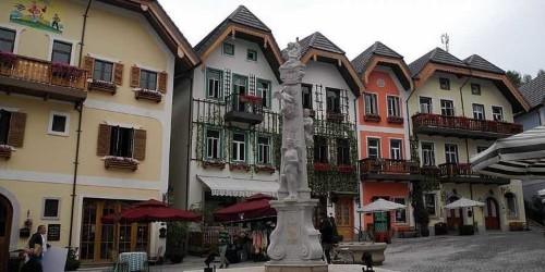 China spent $1 billion replicating an entire Austrian village