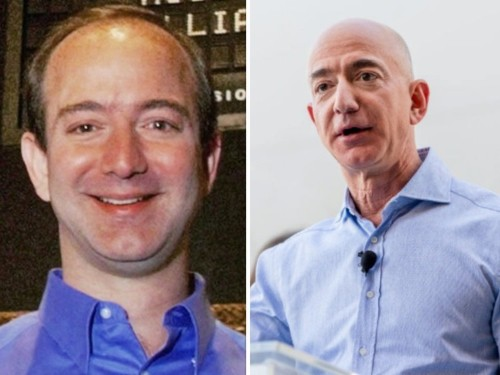 Before and after photos show how dramatically world-famous CEOs have changed since they started the job