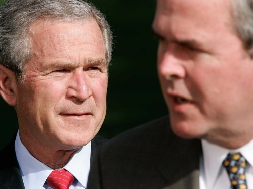 George W. Bush admits he is Jeb Bush's biggest problem in 2016