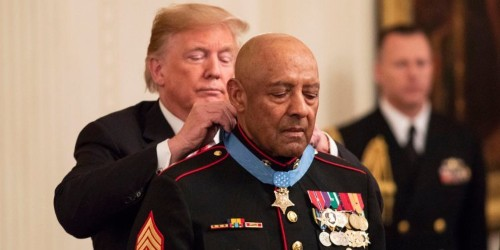 The real reason Trump is awarding Medals of Honor to war heroes at nearly twice the rate of Obama