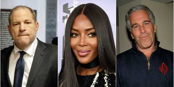 Naomi Campbell brushed off connections to Harvey Weinstein and Jeffrey Epstein - Business Insider