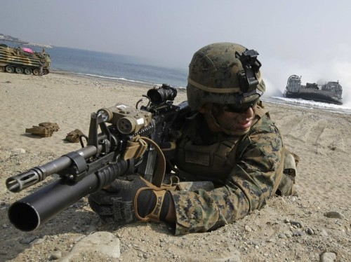 Incredible photos of the military drill that's freaking out North Korea