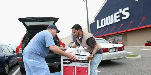 Lowe's soars the most in 11 years after smashing earnings estimates (LOW)