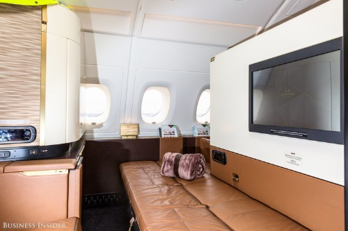 The $446 million Airbus A380 is the largest and most expensive airliner in the world. Take a look inside.