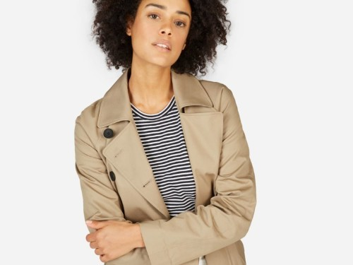 Everlane's $140 trench coat looks like it should cost a lot more — I've had it for 2 years and get asked about it all the time
