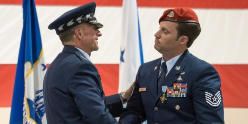Special operator awarded Air Force Cross for ISIS mission Afghanistan