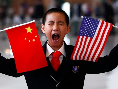 The stock market is over China