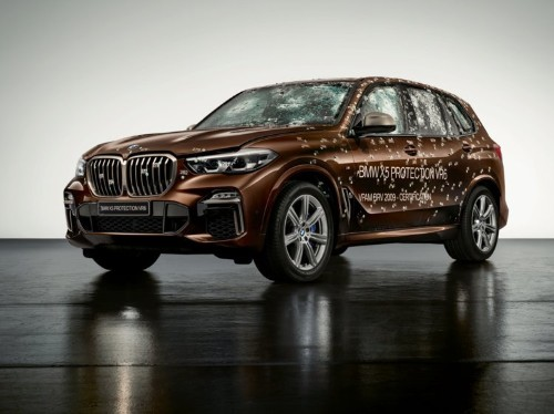 BMW's new armored SUV can protect against AK-47 bullets. explosives, and drone attacks — here's how