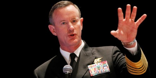 Retired Admiral McRaven has no regrets over criticizing Trump