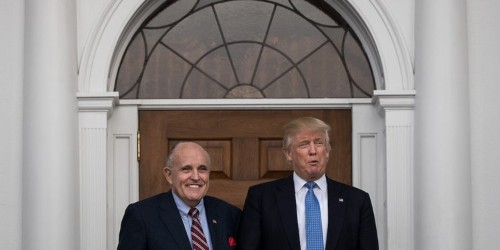 There's a glaring loophole in Trump's and Giuliani's allegations of corruption against Joe Biden