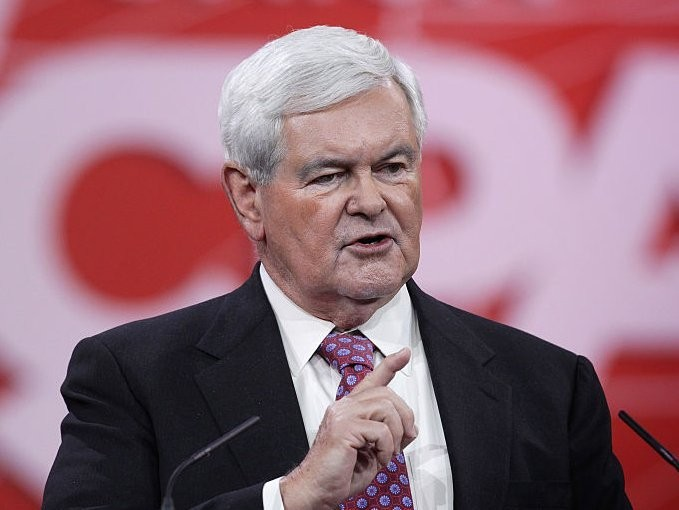 Newt Gingrich: We should 'test' all Muslims in US, and if they 'believe in Shariah,' deport them