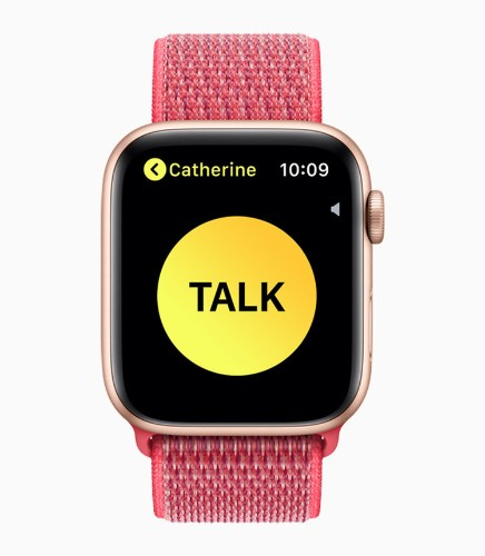 How to use the Walkie Talkie app on an Apple Watch to quickly chat with your contacts