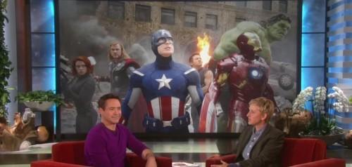 Robert Downey Jr. Hints At 'Iron Man 4'