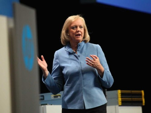 Meg Whitman: We just signed a big deal to help Microsoft sell its Amazon-killer cloud