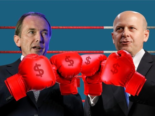 Goldman and Morgan Stanley jockey over new turf; Web-scraping is the hottest new investing edge; UBS creating 'super human' employees