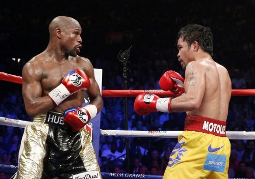 Floyd Mayweather rubbishes video saying he'll rematch Manny Pacquiao