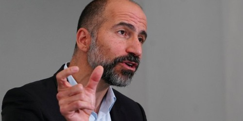 Uber CEO talks cost cutting to employees as company cuts back