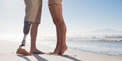 Prosthetic leg washed up on a Florida beach, and women found its owner