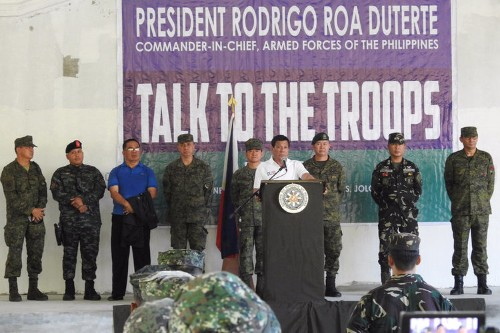 Duterte says Philippines will stop taking second-hand US military equipment, will look to Russia and China for new gear