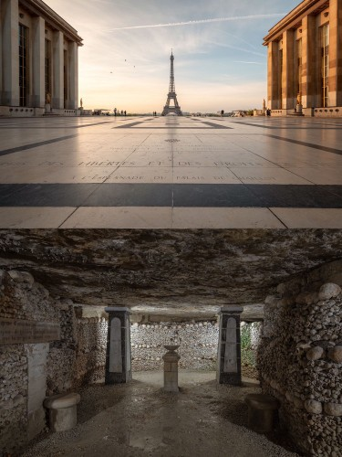 This photographer captured what lurks beneath Europe's biggest tourist attractions — and the photos are incredible