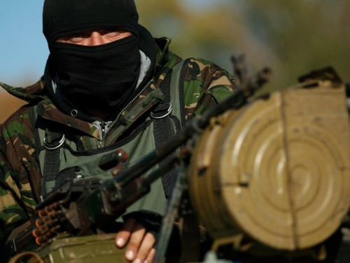 Ukraine has become a hotbed of illegal arms trading