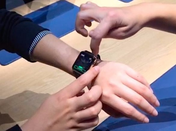 I just tried the Apple Watch for myself and it's complicated