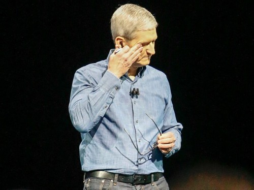 Apple CEO Tim Cook: 'Companies should have values, like people do'