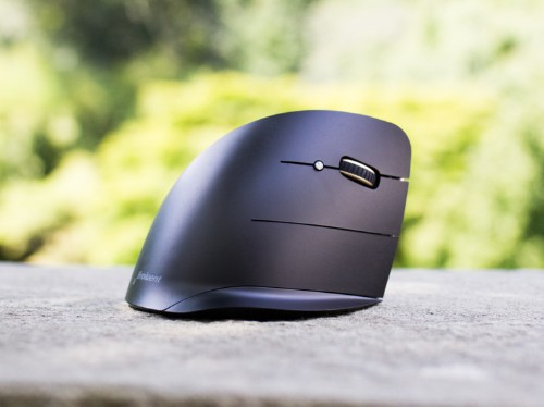 This strange-looking mouse is the most comfortable one I've ever used