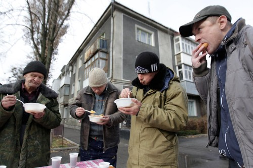 Russian poverty has reached 'critical' levels
