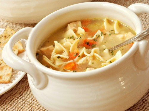The science behind why we eat chicken noodle soup when we're sick