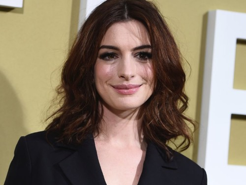 Anne Hathaway says she was told not to gain weight when she was a 16-year-old actress