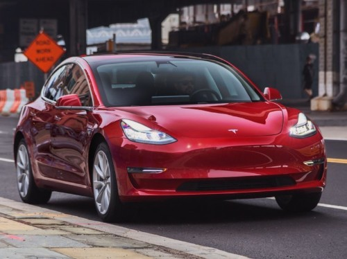 Tesla's Model 3 just earned another big safety award