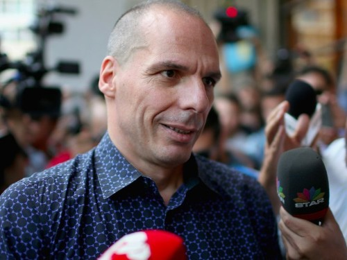 Yanis Varoufakis says Greece is being 'fiscally waterboarded' by a 'Global Minotaur'