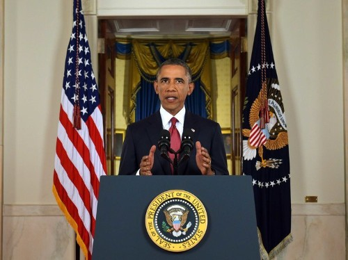 OBAMA AUTHORIZES STRIKES IN SYRIA; MORE TROOPS HEADED TO IRAQ