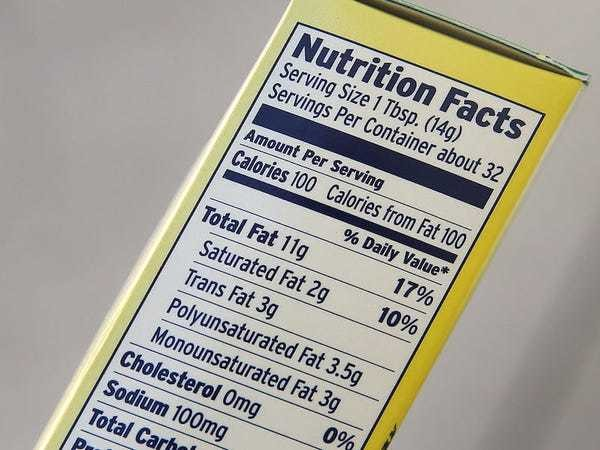What 12 numbers on nutrition labels mean and why you may want to pay attention to them - Business Insider