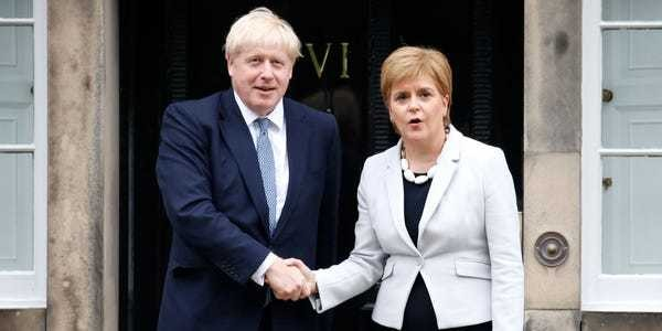 Boris Johnson's election victory means Scotland could end up leaving the United Kingdom - Business Insider