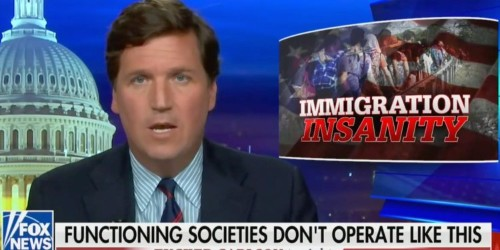 Tucker Carlson says immigrants have 'plundered' the US and want to steal Americans' wealth