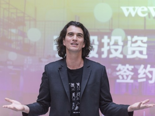 WeWork reportedly pressured by SoftBank to shelve IPO
