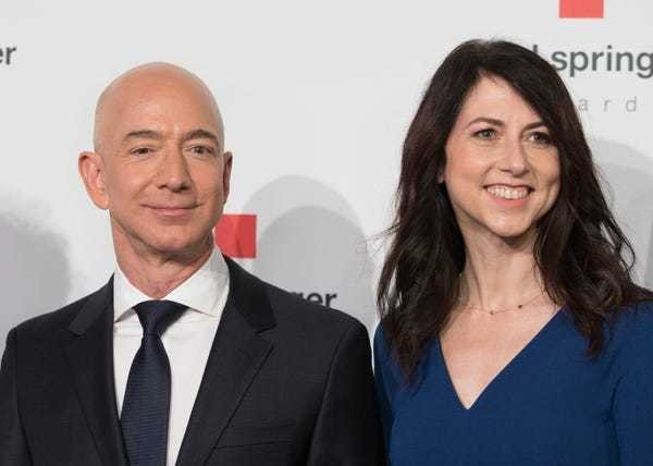 Jeff Bezos' divorce could soon make MacKenzie Bezos one of Amazon's biggest shareholders - Business Insider