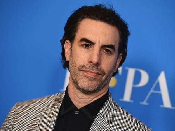 Sacha Baron Cohen launched a scathing attack on Mark Zuckerberg - Business Insider