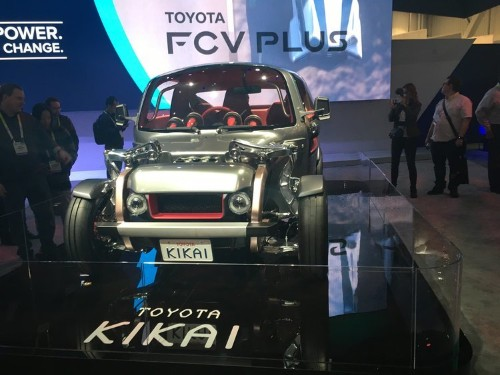 Check out the coolest cars we saw at CES