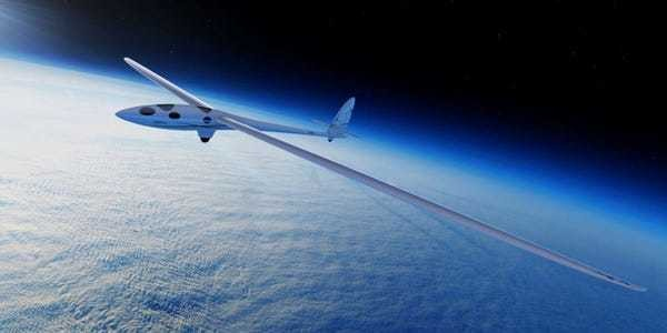 This glider will fly 90,000 feet higher than most aircraft - Business Insider