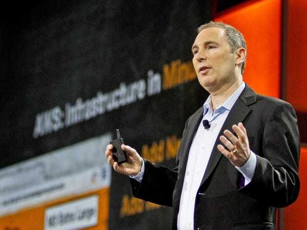 Amazon Web Services CEO Andy Jassy just took a jab at Microsoft - Business Insider