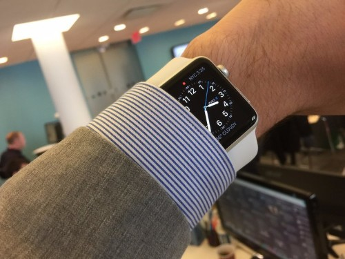 Google Maps for Apple Watch doesn't actually have any maps