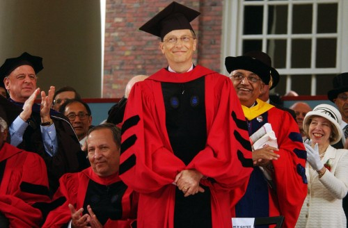 Bill Gates says he doesn't regret dropping out of Harvard