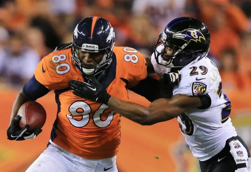 The Broncos Tight End Who Had A Monster Game Last Night Didn't Start Playing Football Until His 5th Year In College